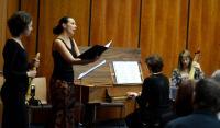 O hudební doprovod se postarala Akademie staré hudby při FF MU