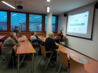 Účastníci exkurze se dověděli o možnostech vyhledávání periodik v licencovaných databázích
