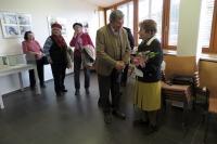 Slavnostní zahájení výstavy k patnáctému výročí otevření nové budovy