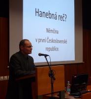 Téma přednášky Dr. phil. Mirka Němce z Katedry germanistiky UJEP Ústí nad Labem