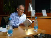 Jan Faktor v malém sále MZK v Brně (3.11. 2010)