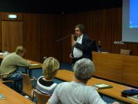 PhDr. Roman Kopřiva, PhD. přednáší o vojenských letech Hugo von Hofmannsthala na Moravě (16.11. 2010)
