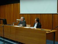Profesor Peter Demetz v diskusi s Romanem Kopřivou (25.11. 2010)