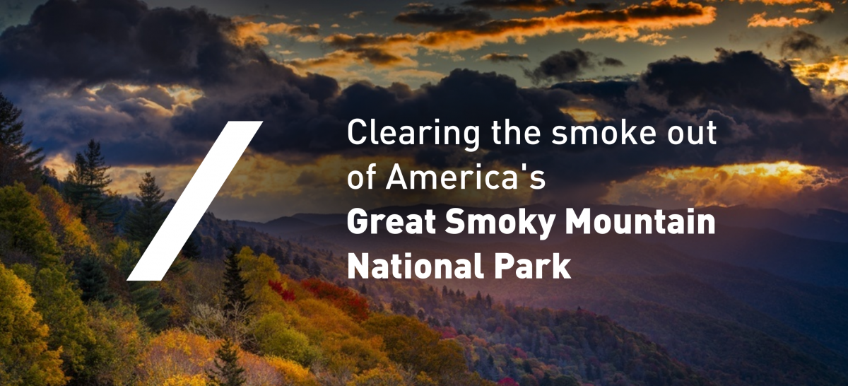 Clearing the smoke out of America's Great Smoky Mountain National Park