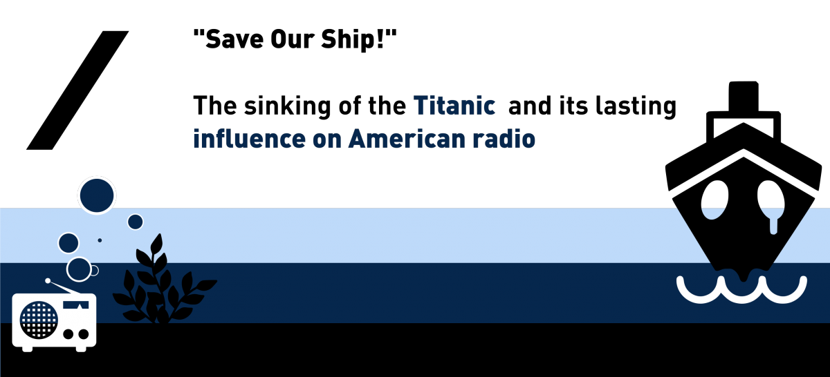 "Lecture: ""Save Our Ship!"" The sinking of the Titanic and its lasting influence on American radio"