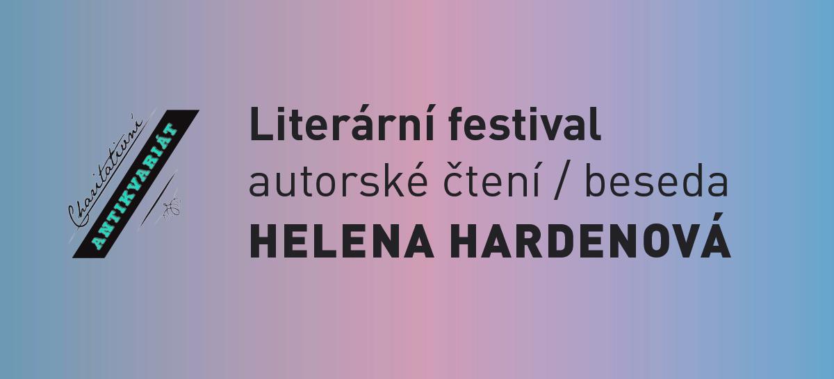 Literární festival: Helena Hardenová